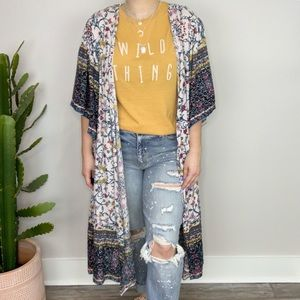 Good Things Boho Kimono Duster